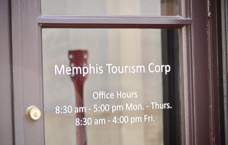 Memphis Tennessee Office van Toerisme royalty-vrije stock fotografie