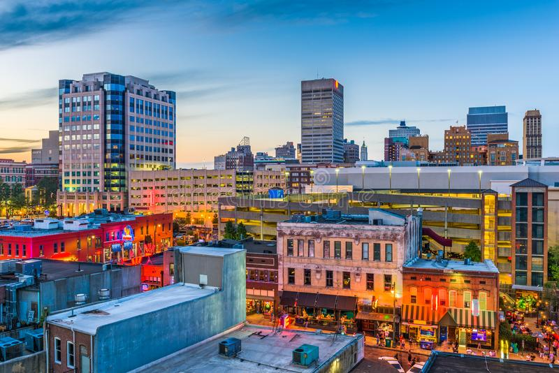 Memphis Tennessee Skyline photo stock
