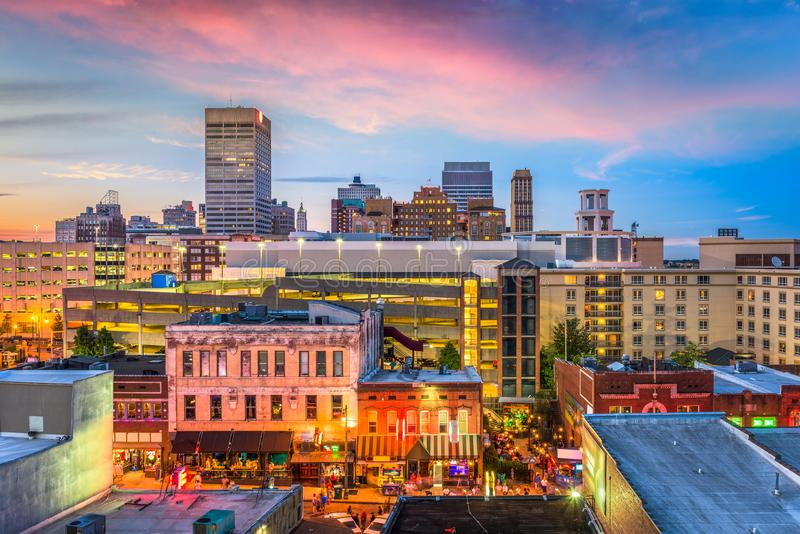 Memphis, Tennessee, USA lizenzfreie stockfotografie