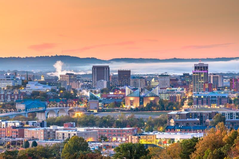 Memphis Tennessee, USA horisont arkivbilder