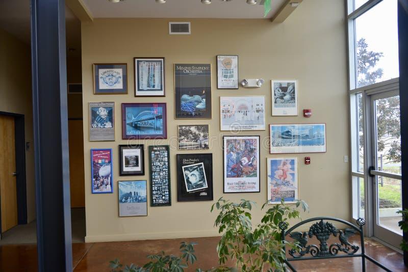 Memphis Welcome Center Interior imagenes de archivo