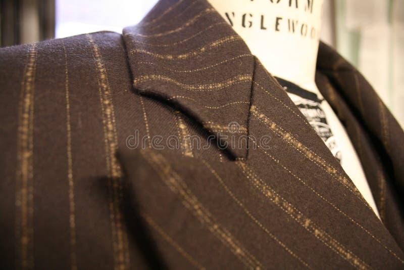 Men's kostiumu żakiet na sukni formie zdjęcie stock