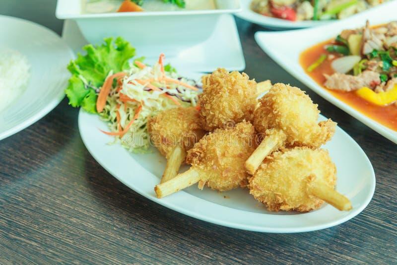 Menú de la comida vietnamita imagen de archivo libre de regalías