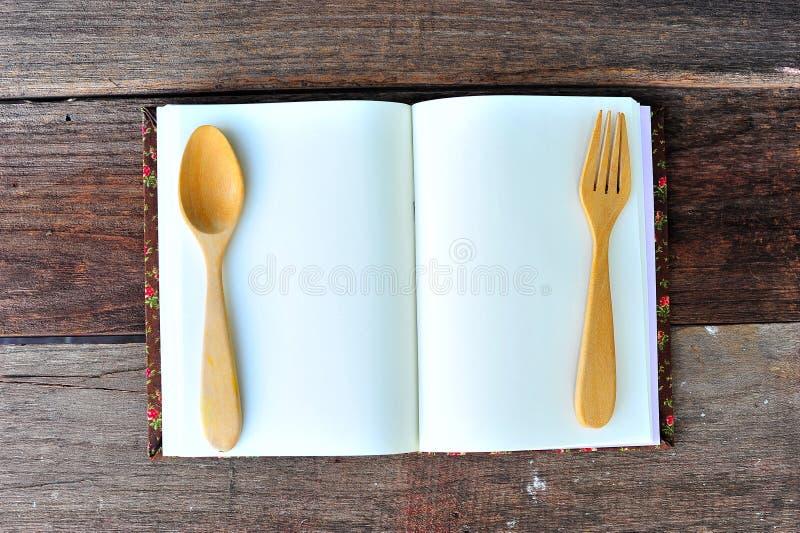 Menú en la tabla fotos de archivo libres de regalías