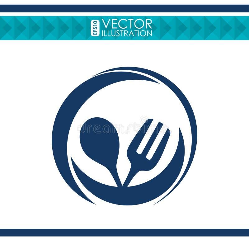Menüikonendesign vektor abbildung
