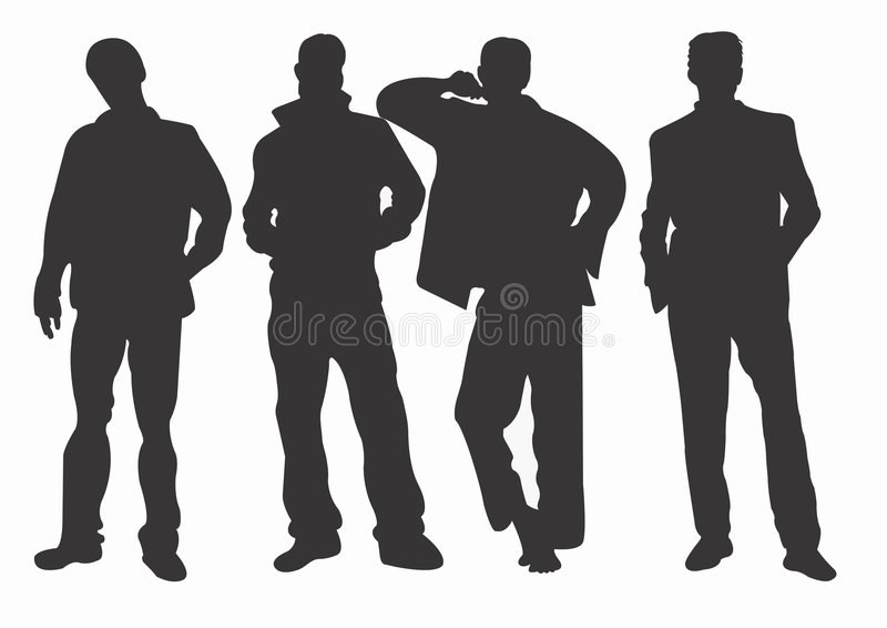 Men vector illustration