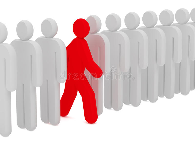 Download Men 3d stock illustration. Illustration of people, symbol - 14853374
