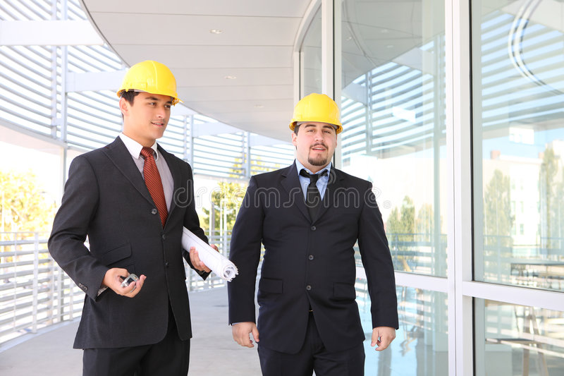Download Men Architects On Construction Site Stock Image - Image: 6818871