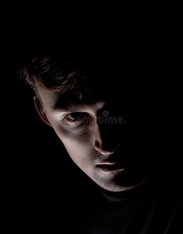 Download Men On Black Royalty Free Stock Photos - Image: 7518228