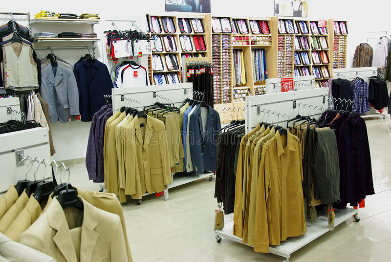 men clothes in shop stock photo image of hangers jackets