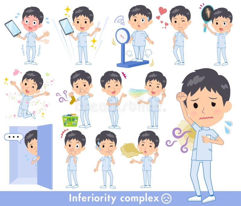 Men_complex de chiroprakteur illustration libre de droits