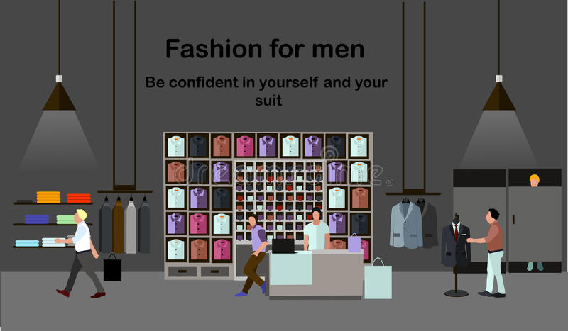 Men fashion concept people shopping in a mall clothes for Free people store decor