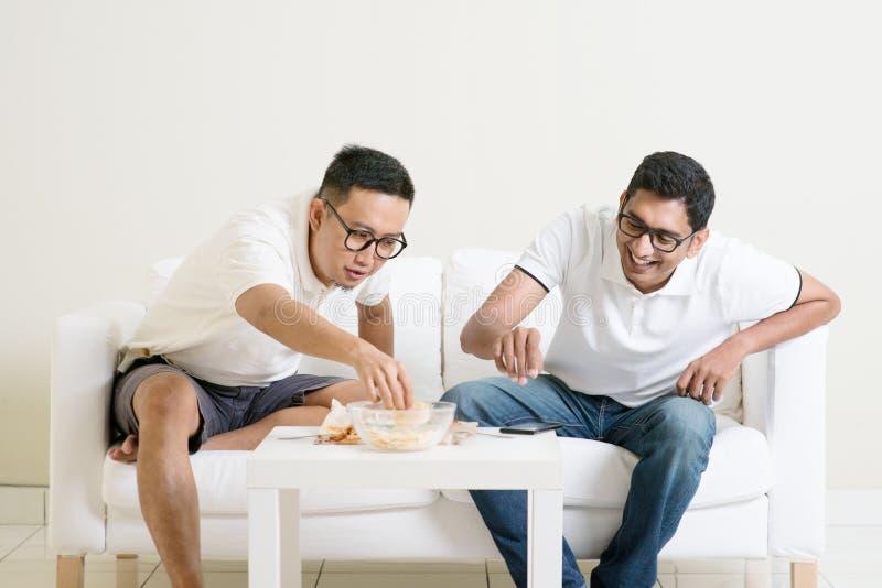 Men friendship concept royalty free stock photo