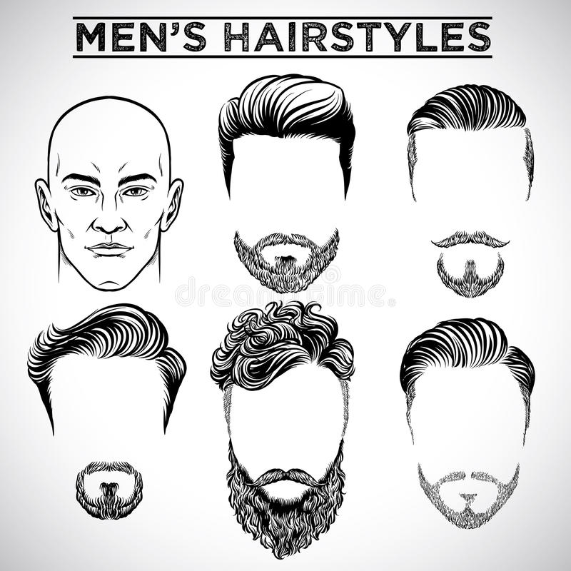 Free Men Hairstyles Stock Images - 70777264