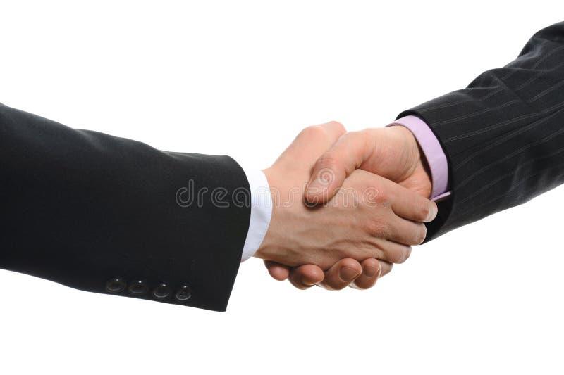 Men handshake stock photos