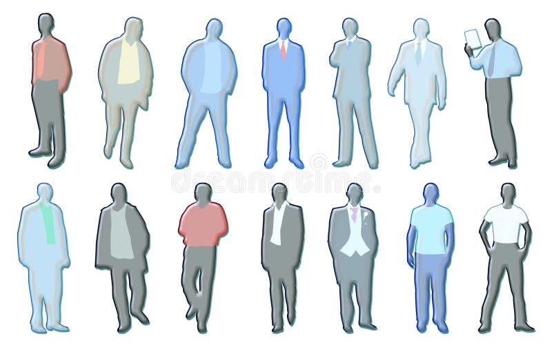 Download Men illustrations stock illustration. Image of perople - 2376014