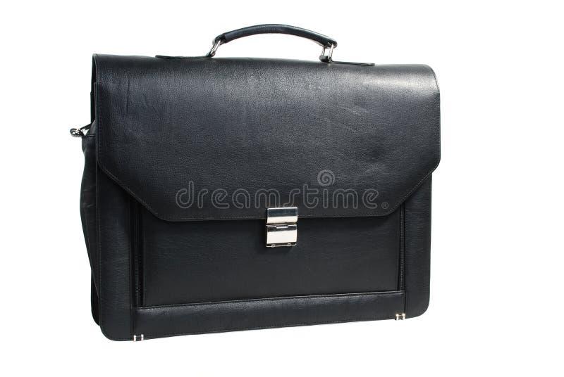 Men leather bag stock image