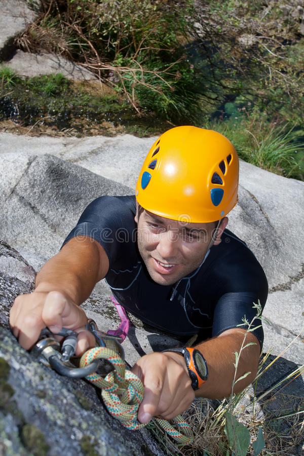 Download Men With Rope For Rappelling Royalty Free Stock Images - Image: 20925989