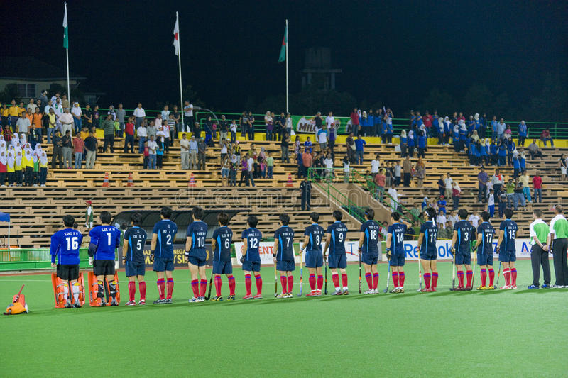 Download Men's Asia Cup Hockey 2009 Champions Editorial Stock Photo - Image: 9409038