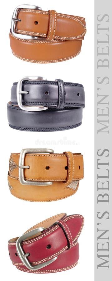 Download Men's Belts, multicolor stock image. Image of wine, belts - 19689871