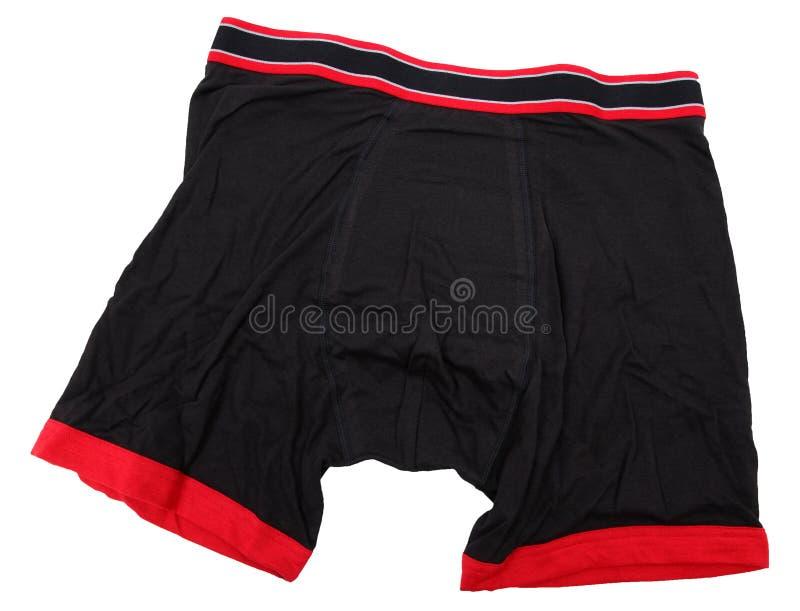 Download Men's Black Boxer Briefs stock photo. Image of color - 30002510