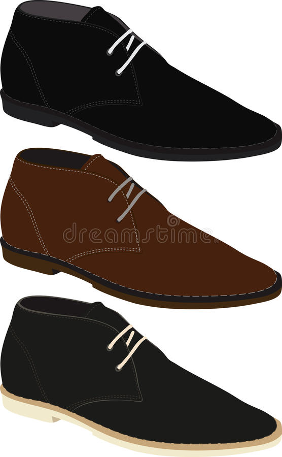 Men S Boots Stock Photography
