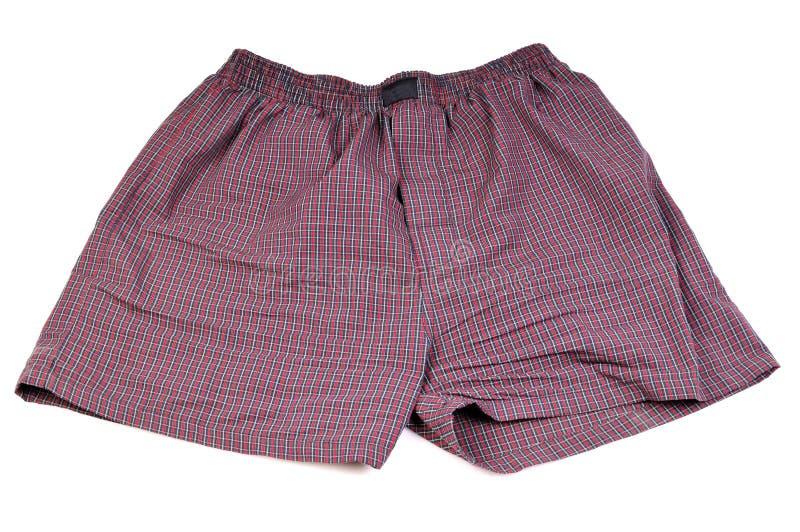 Men's boxers stock photo