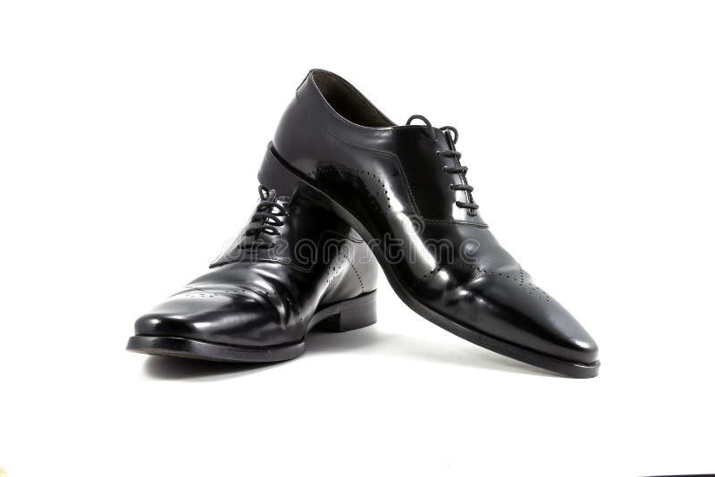 Men's classic shoes stock images