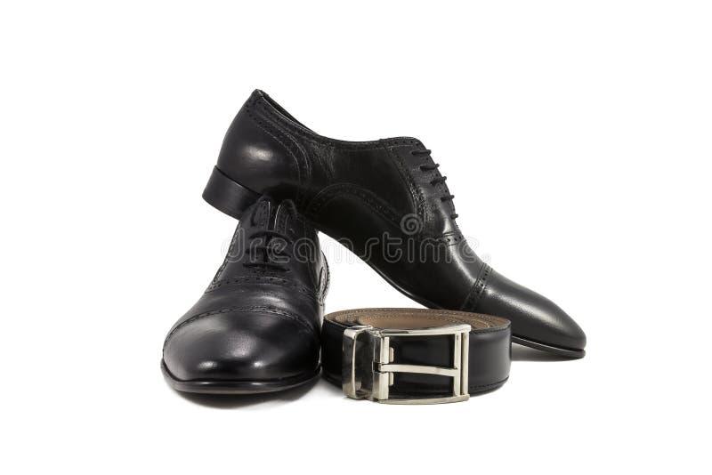 Men's classic shoes stock photo
