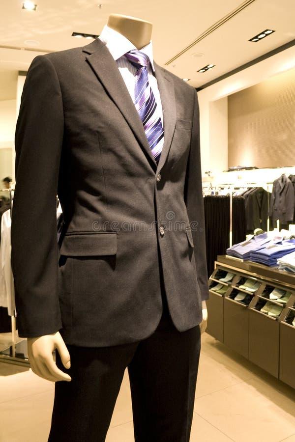 Men's Clothing Shop stock images