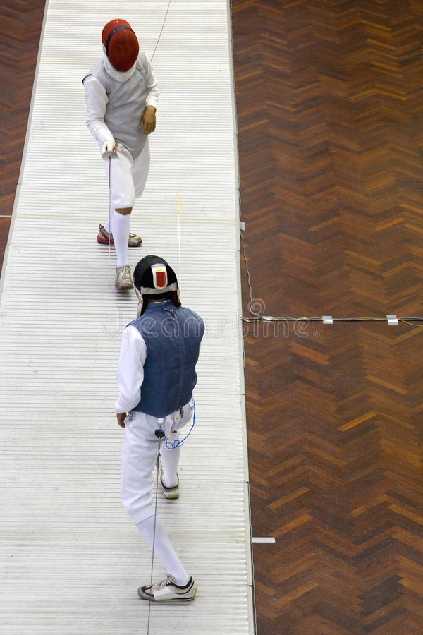 Download Men's Fencing Royalty Free Stock Photography - Image: 5492637