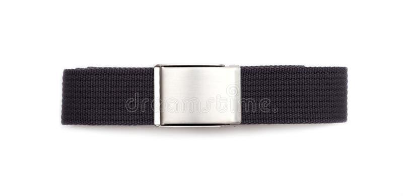 Men`s grey belt stock photo