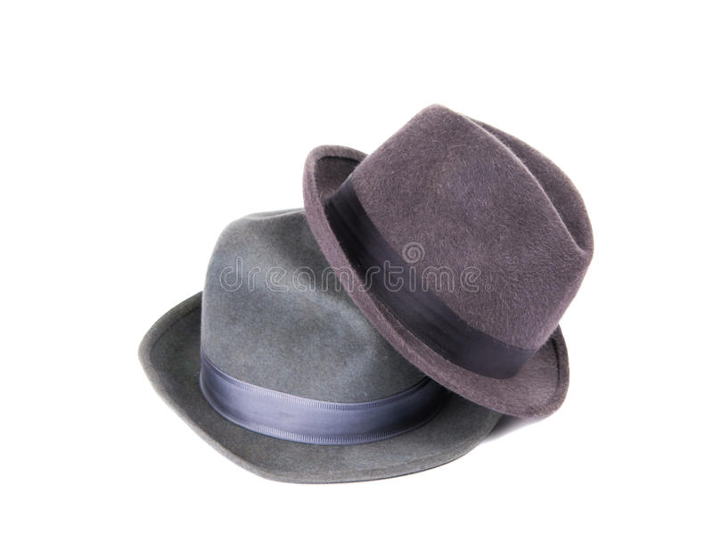 Men S Hat Isolated Stock Photography