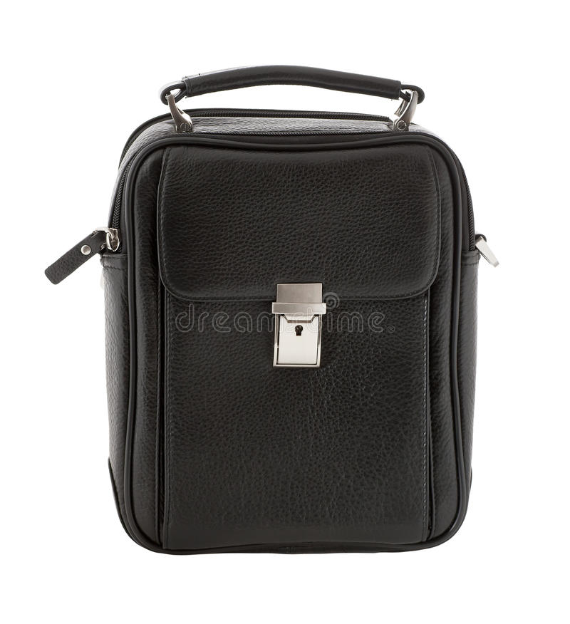 Download Men's leather bag stock photo. Image of white, professional - 21254004