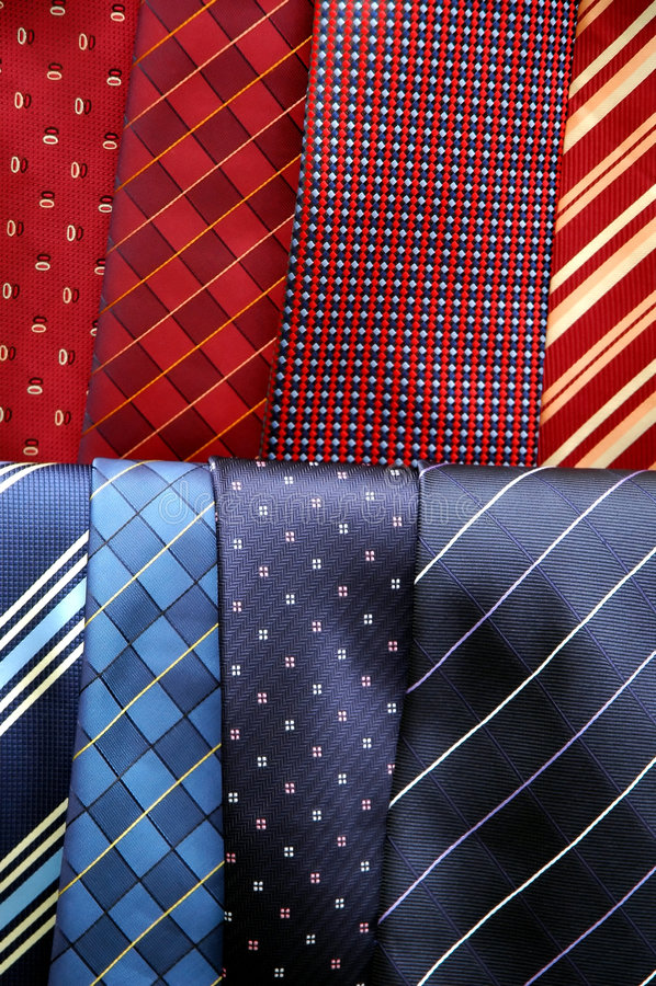 Men's necktie royalty free stock images
