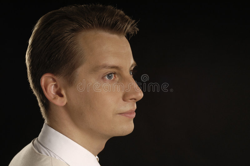 Men's portrait stock images