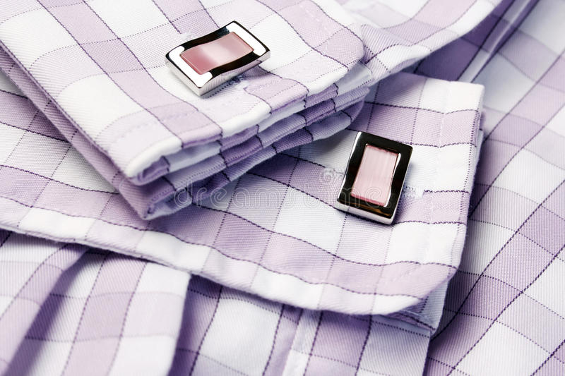 Download Men�s Shirt With Cufflinks Royalty Free Stock Photo - Image: 12426055