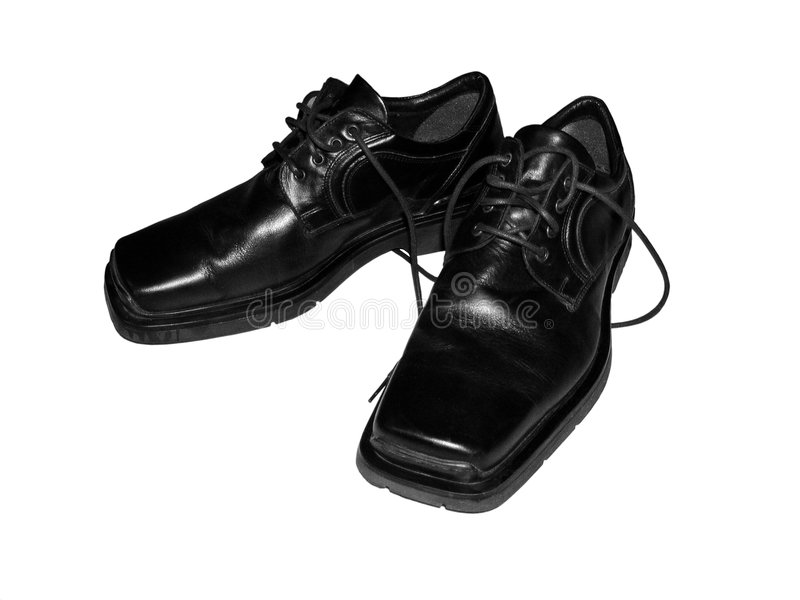 Download Men's shoes stock image. Image of sole, dark, leather, item - 463225