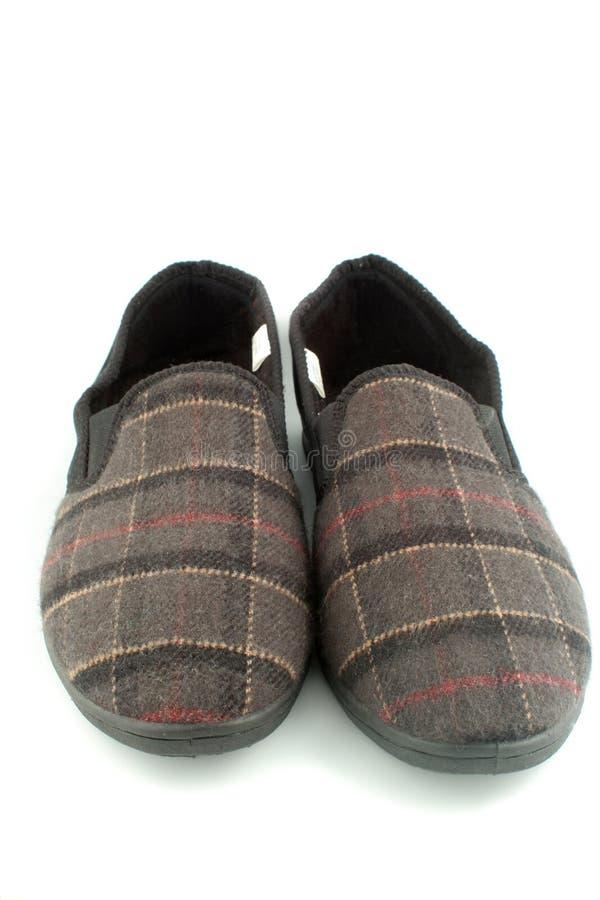 Men's slippers stock photo