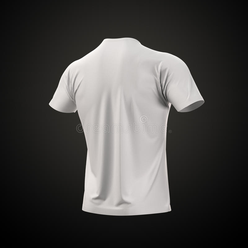 Men s T-shirt Isolated with clipping path.
