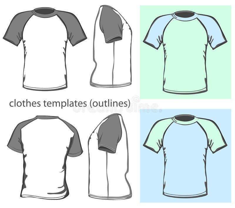 Download Men's T-shirt Raglan Royalty Free Stock Photos - Image: 26819618