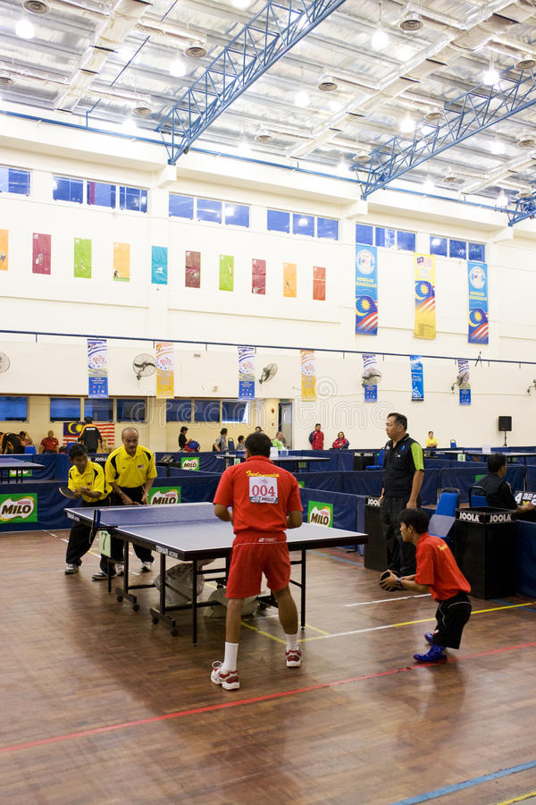 Download Men's Table Tennis For Disabled Persons Editorial Photography - Image: 10568782