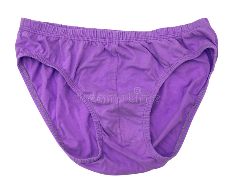 Mens Underpants. Isolate on white royalty free stock photography