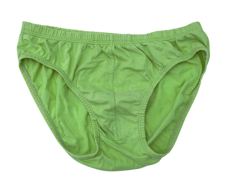 Mens Underpants. Isolate on white royalty free stock image