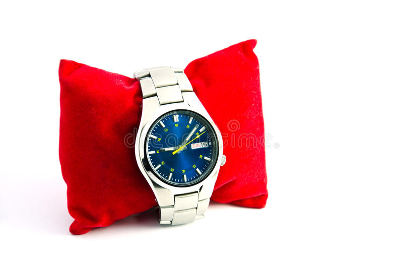 Men's Watches. Wristwatch for men to wear their are fashionable stock photo