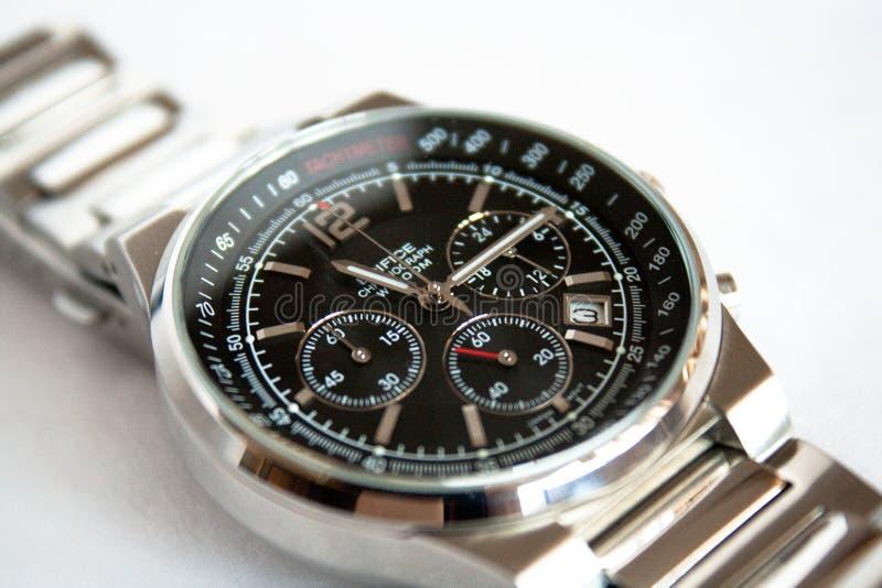 Men´s wrist watches royalty free stock photos