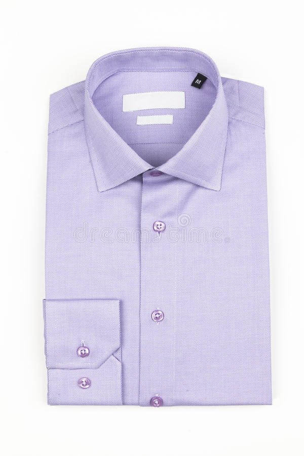 Men shirt isolated stock photography