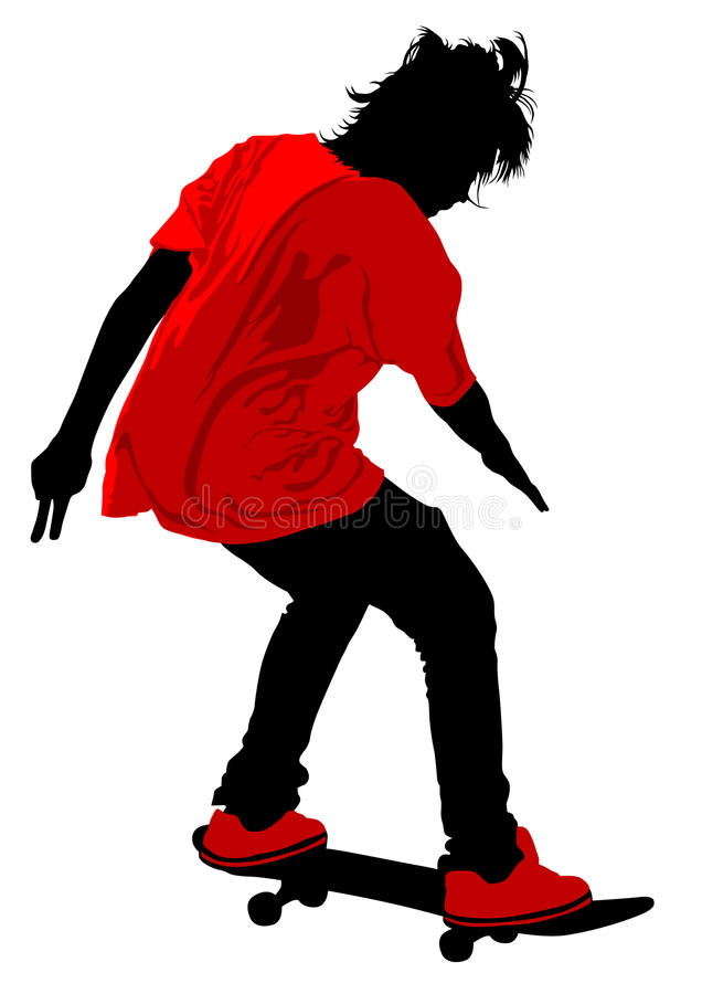 Download Men On Skateboard Royalty Free Stock Images - Image: 22659279