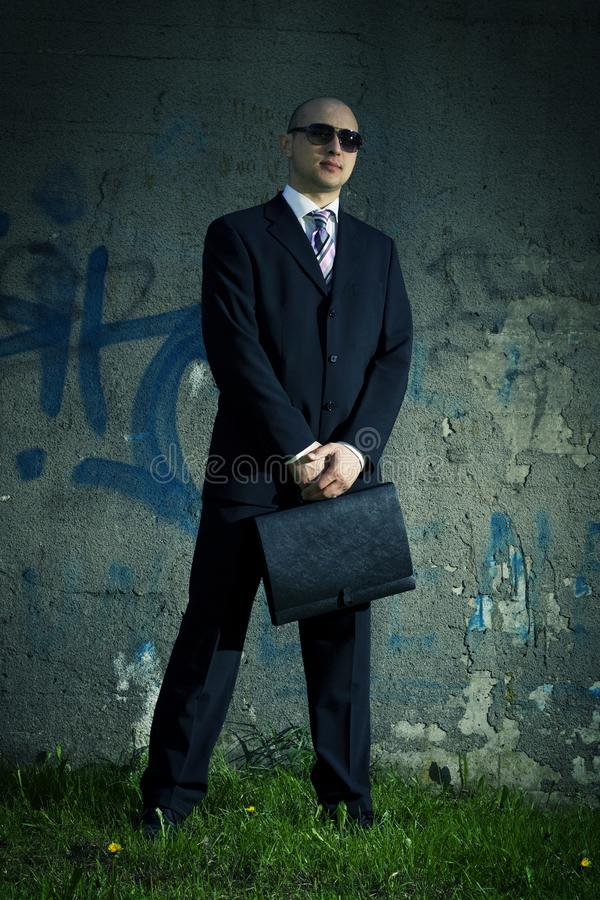 Men in suit. royalty free stock images