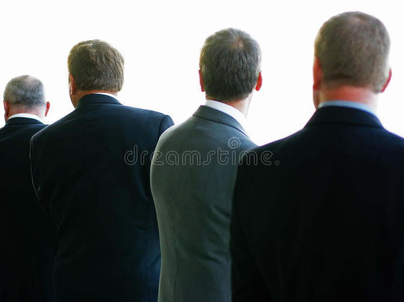 Download Men in Suits stock photo. Image of groomed, shunning - 11166724
